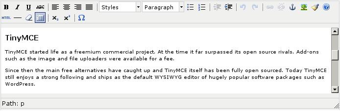 TinyMCE vs CKEditor: battle of titans! (of WYSIWYG editing