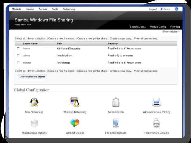 File Server Samba File Sharing Turnkey Gnu Linux