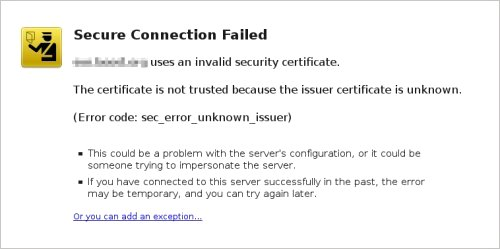 Self signed and trusted SSL certificates   TurnKey GNU/Linux