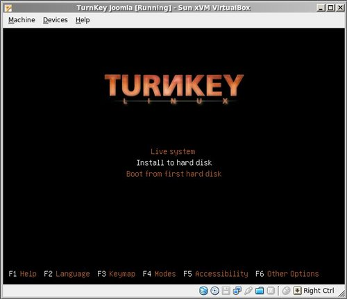 Appliance installation tutorial with VirtualBox | TurnKey GNU/Linux