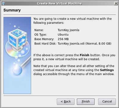 Appliance installation tutorial with VirtualBox | TurnKey GNU/Linux