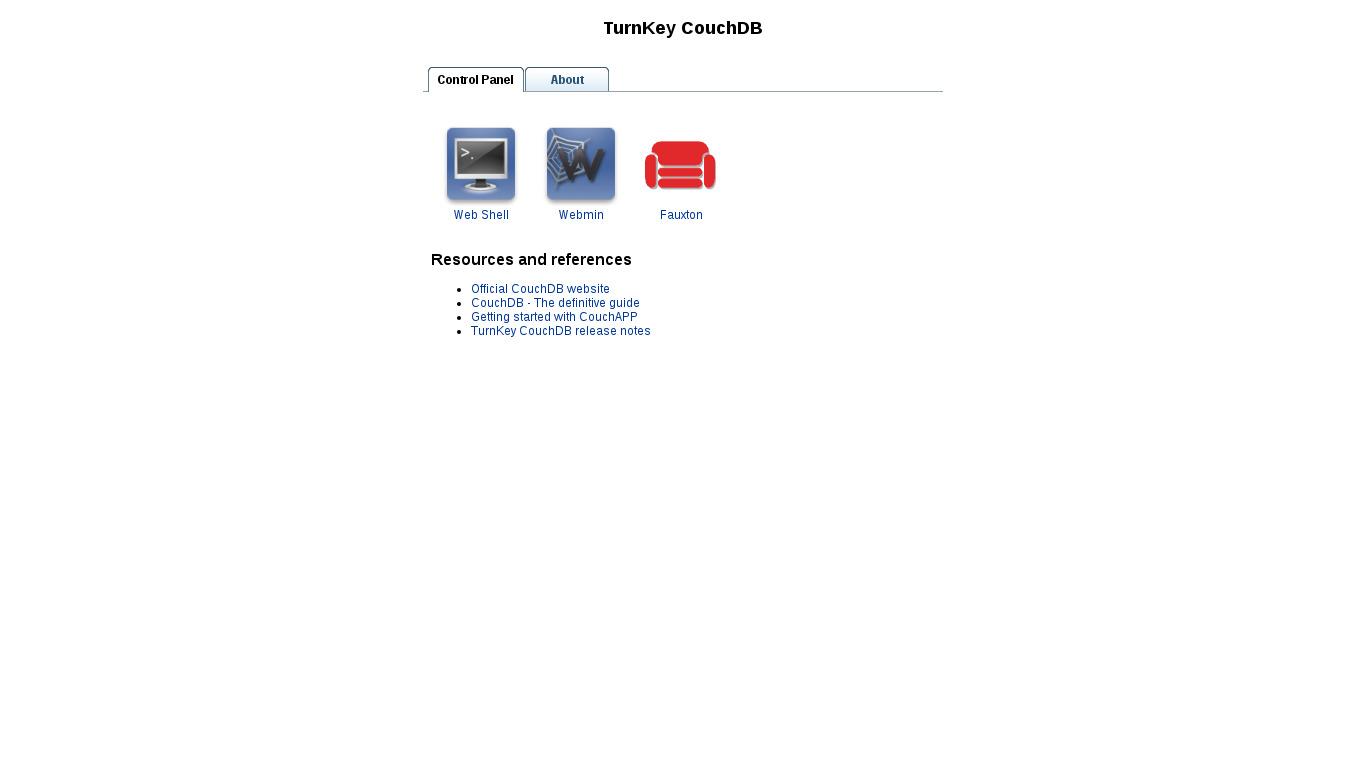 CouchDB | TurnKey GNU/Linux