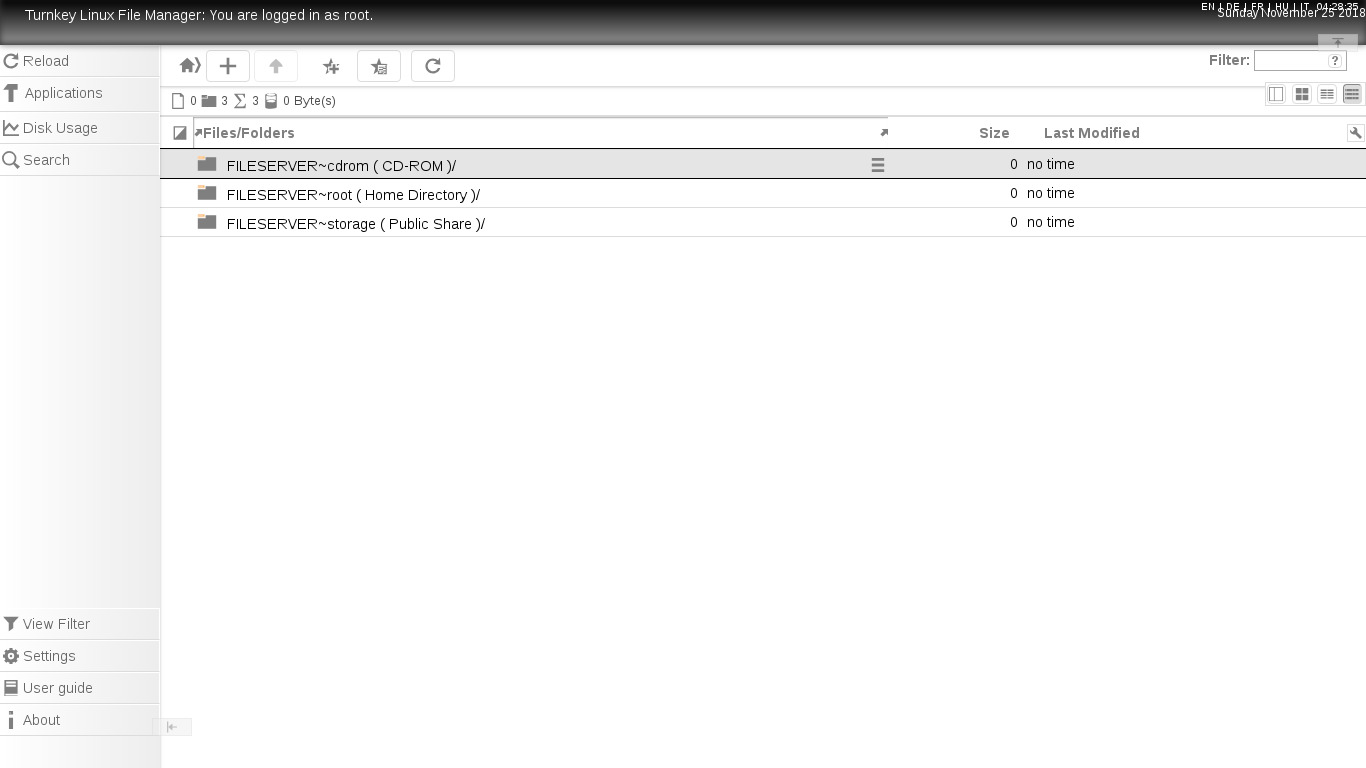 Resultado de imagen de TurnKey File Server