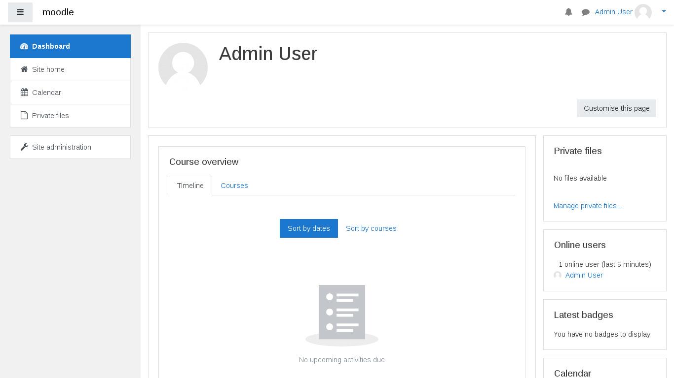 Moodle | TurnKey GNU/Linux